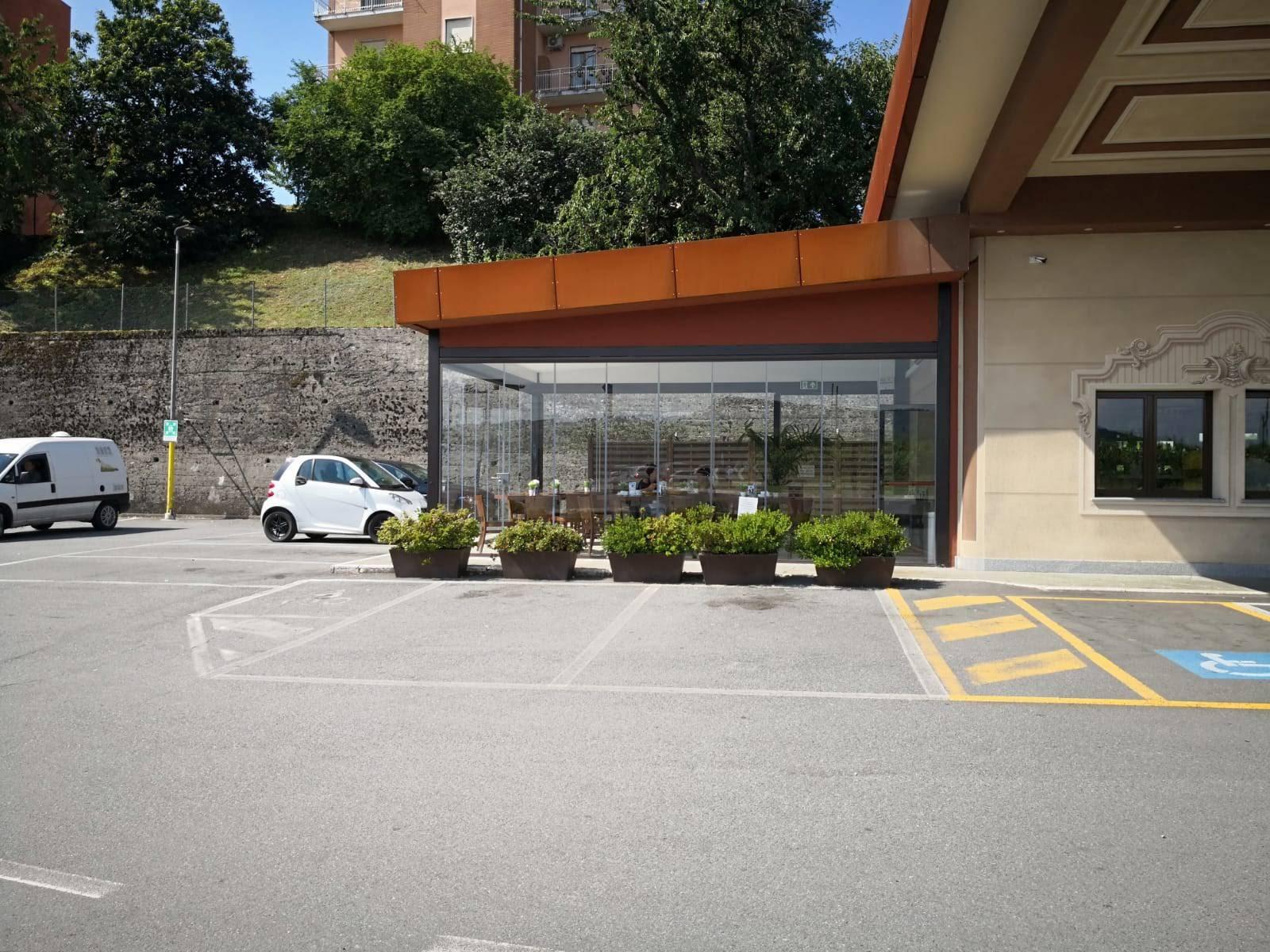 Domus Point pergola Serravalle